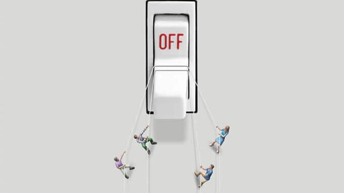 LET'S TURN OFF POWER TO TURN ON ENERGY SAVING